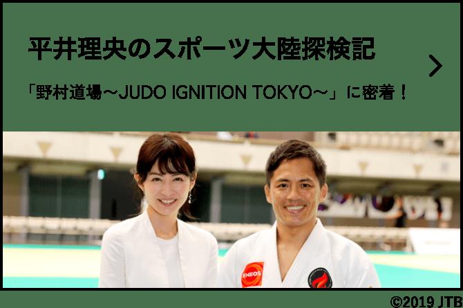 平井理央のスポーツ大陸探検記